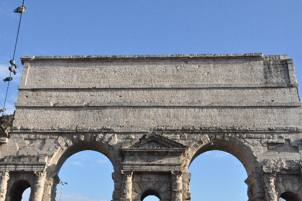 Rome porta maggiore west inscription livius - Rome porta maggiore ...