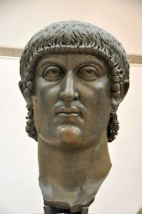 Constantine the Great. Capitoline Museums, Rome (Italy)