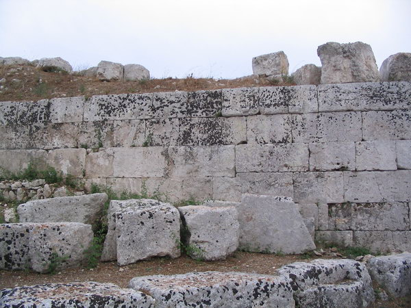 Euryalus, northern wall (1)