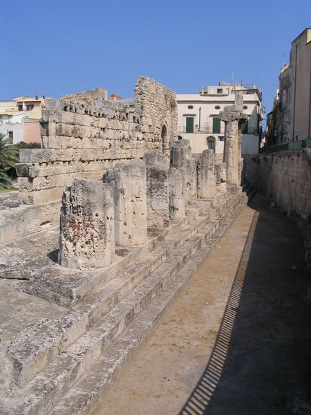 Syracuse, temple of Apollo (2)