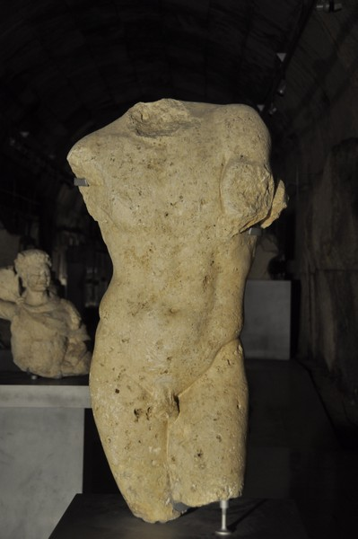 Baalbek, naked figure