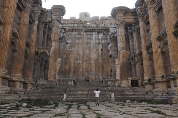 Baalbek, temple of Bacchus, cella