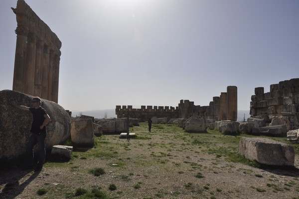 Baalbek, temple of Jupiter, shrine (1)
