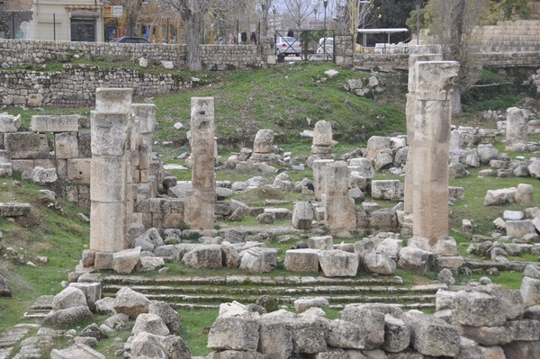 Baalbek, Temple of the Muses (2)