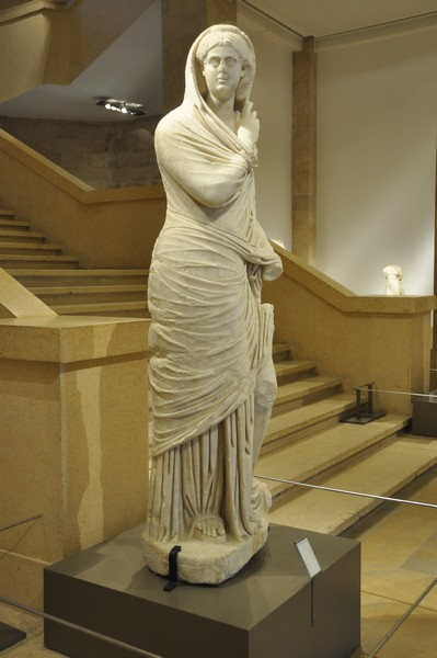 Beirut, Statue of a Roman lady