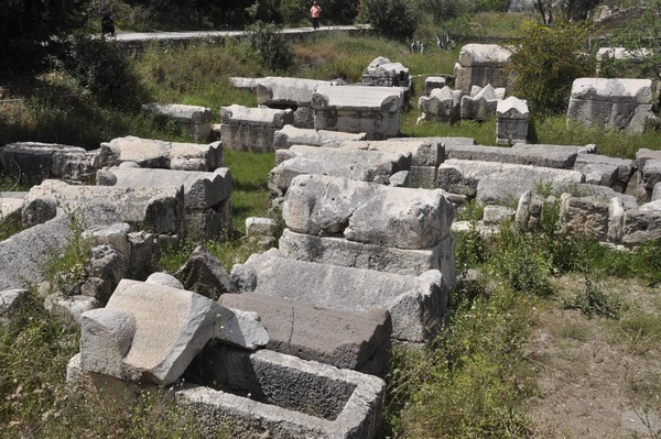 Tyre, Al-Bass Cemetery, general view