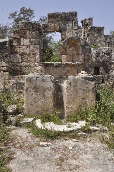 Tyre, Al-Bass Cemetery, Church, apse