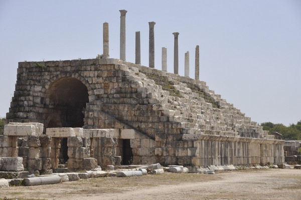 Tyre, Al-Bass, Hippodrome, restored seats