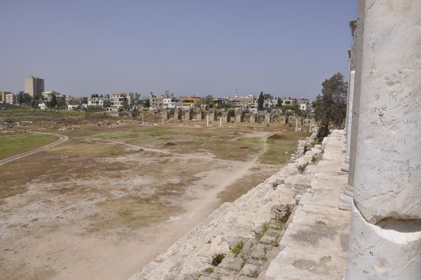 Tyre, Al-Bass, hippodrome, spina, general view, north