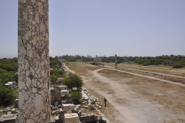 Tyre, Al-Bass, hippodrome, spina, general view, south