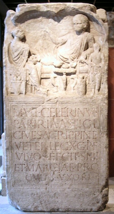 Cologne, Tombstone of Celerinus of X Gemina