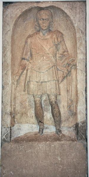 Colchester, Tombstone of centurion Marcus Favonius Facilis