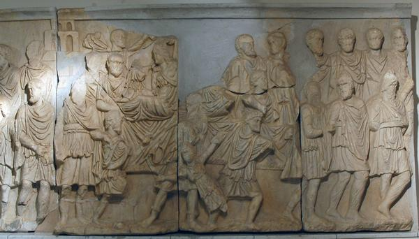 Lepcis, Arch of Septimius Severus, NW, frieze (3)