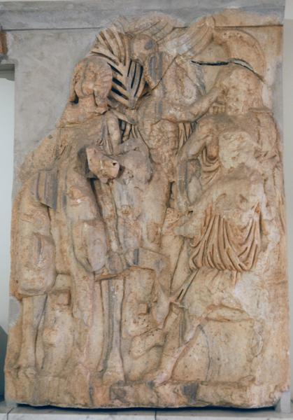 Lepcis, Arch of Septimius Severus, SE, frieze (2)