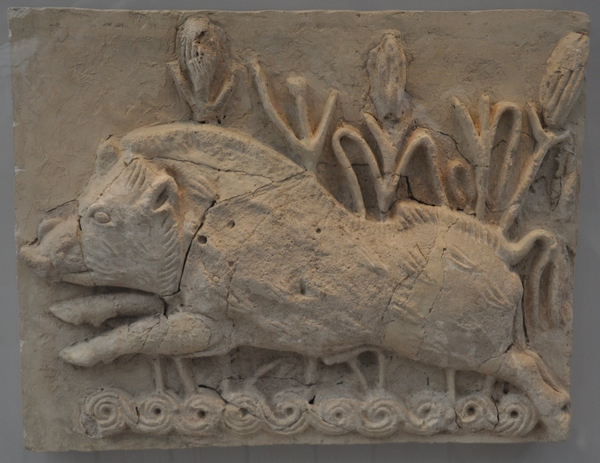 Ctesiphon, relief of a boar