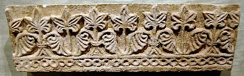Ctesiphon, Sasanian wall frieze