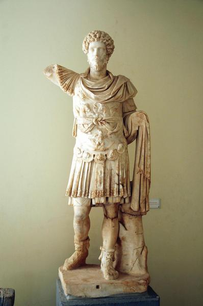 Marcus Aurelius as a young emperor