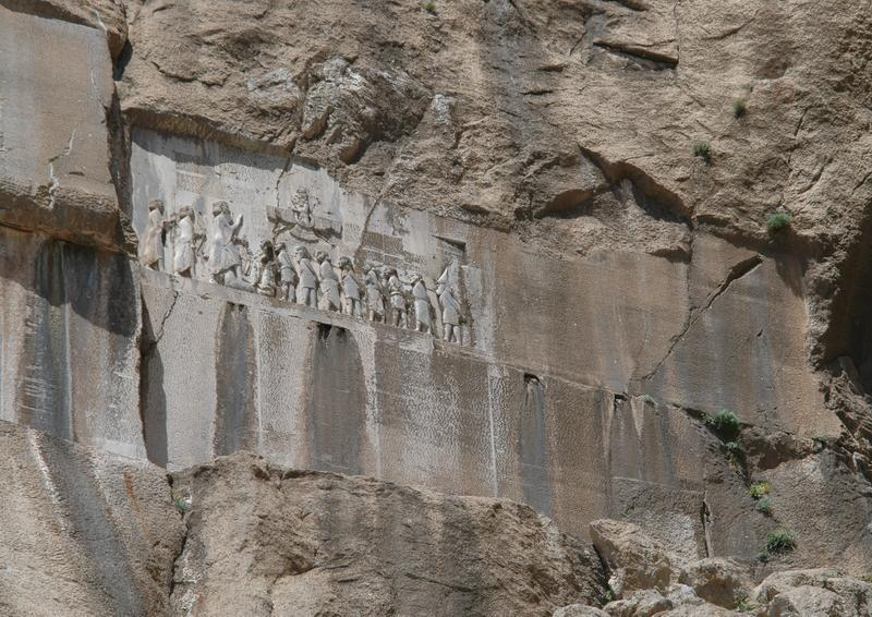 Behistun, Darius' relief and inscription