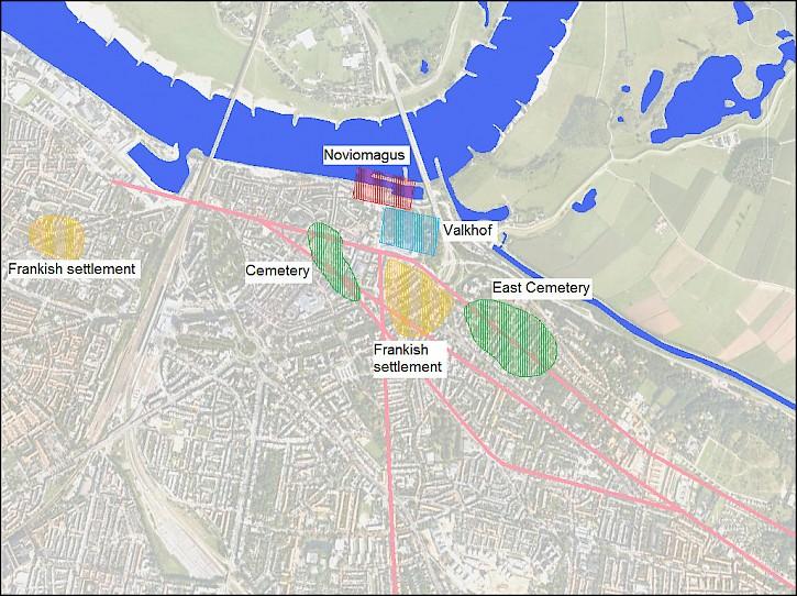 Netherlands Map Nijmegen