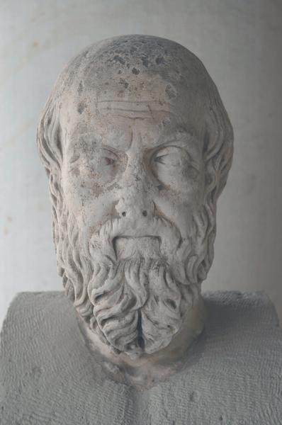 Athens, Agora, Portrait of Herodotus of Halicarnassus