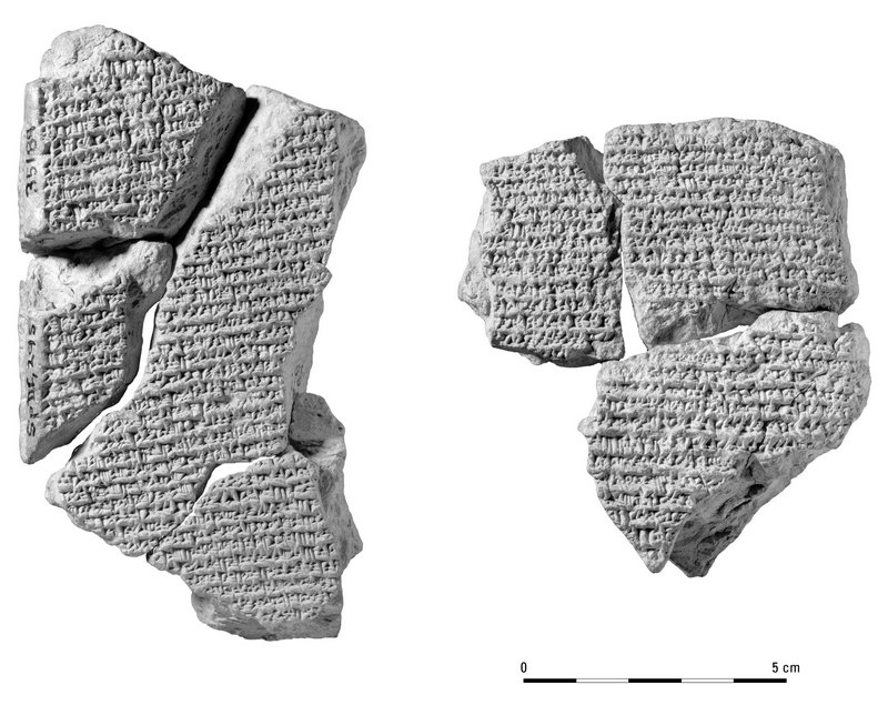BCHP 18BA Chronographic Document concerning Bagayasha (BM 35189 and BM35229)