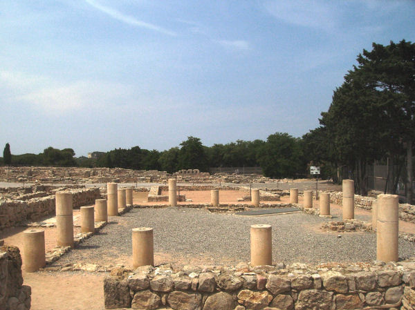Neapolis, House of the Peristyle