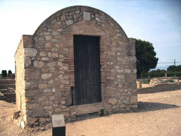 Roman town, vine grower's shed