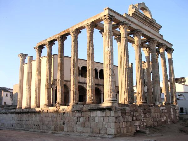 Mérida, temple of Diana