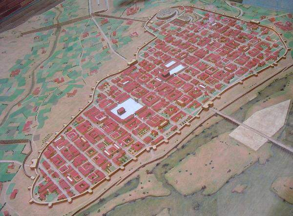 Model of ancient Mérida