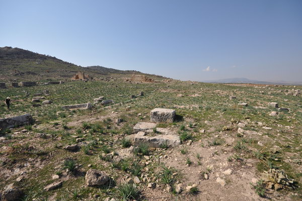 Cyrrhus, remains of a church