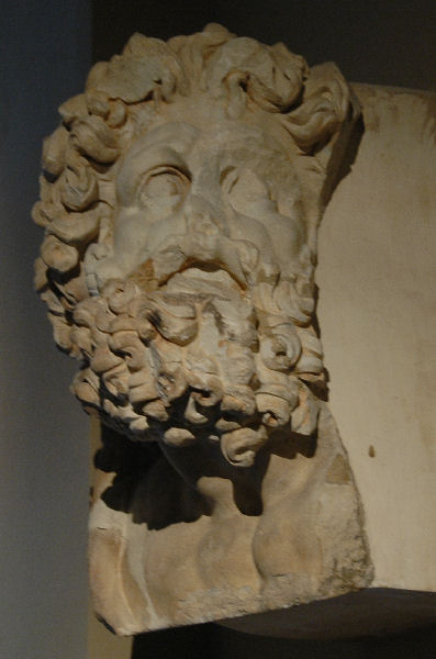 Didyma, head of Zeus