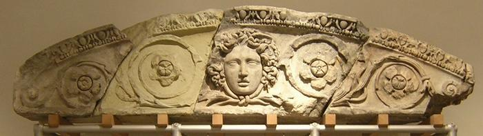 Ephesus, Library of Celsus, decoration (2)