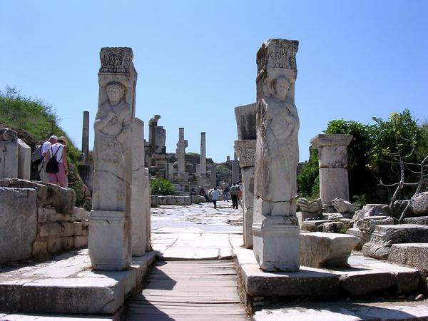 Ephesus, Street of the Curetes, Hercules