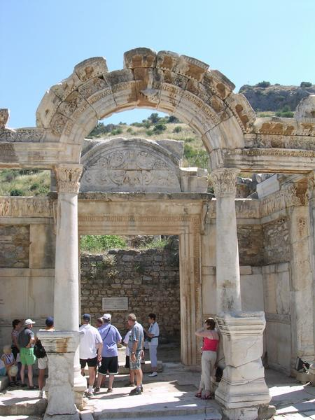 Ephesus, Temple of Hadrian (1)