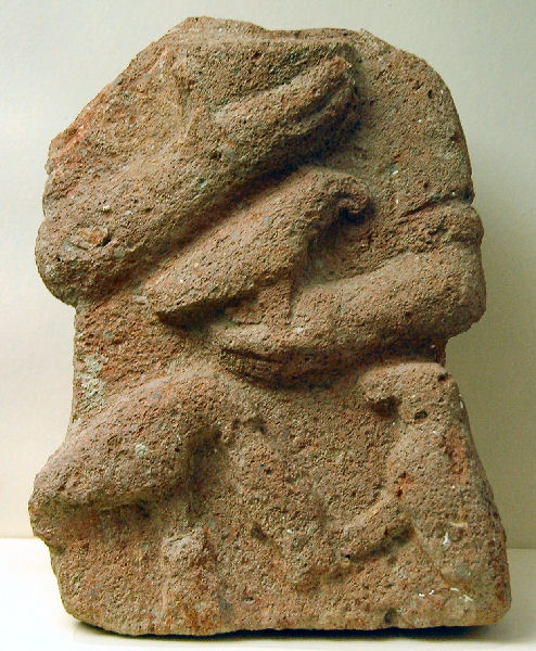 Gordium, broken statue of Matar