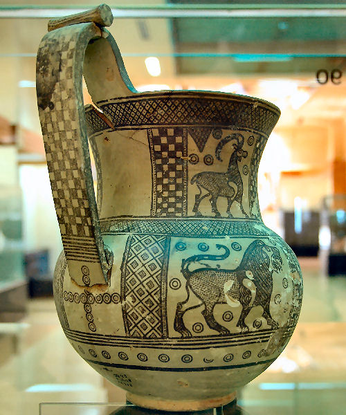 Gordium, vase from Tomb P
