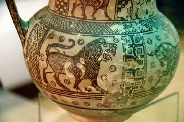 Gordium, vase from Tomb P, detail