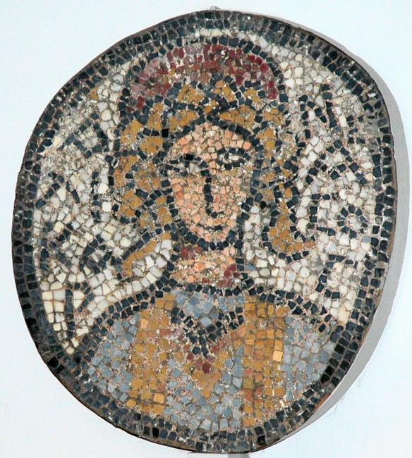 Halicarnassus, Mosaic of the city goddess