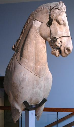 Mausoleum of Halicarnassus, horse