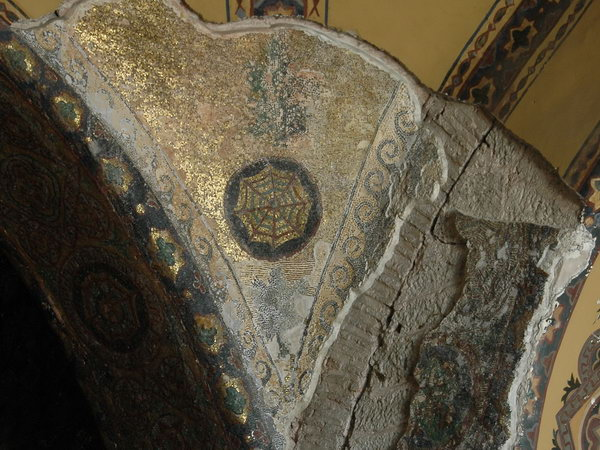 Hagia Sophia, first floor, mosaic