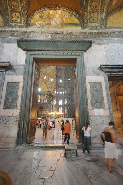 Hagia Sophia imperial gate & Hagia Sophia imperial gate - Livius