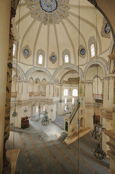 Constantinople, Church of Sergius and Bacchus, Interior