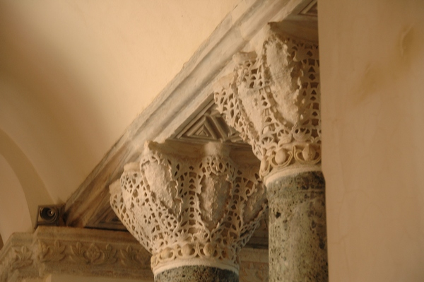 Constantinople, Church of Sergius and Bacchus, Theodosian capitals