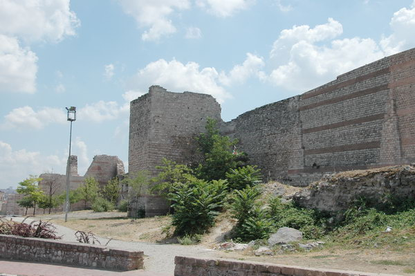 Constantinople, Theodosian Wall, N of Charisius Gate