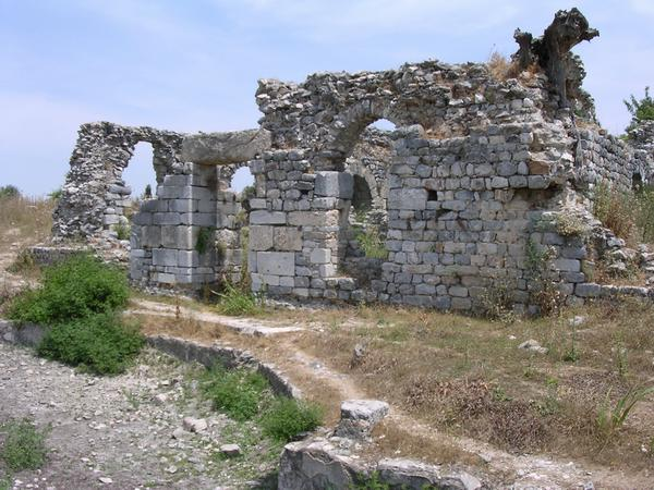 Miletus, North Agora, Baths of Capito