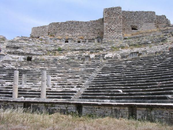 Miletus, theater (2)