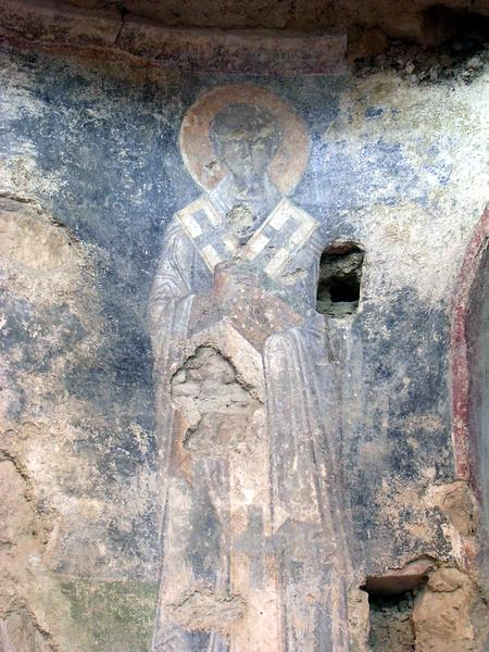 Myra, church of St Nicholas, fresco