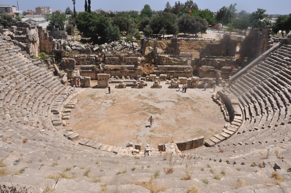 Myra, theater, general view (1)