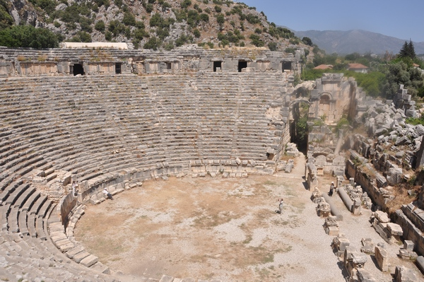 Myra, theater, general view (2)