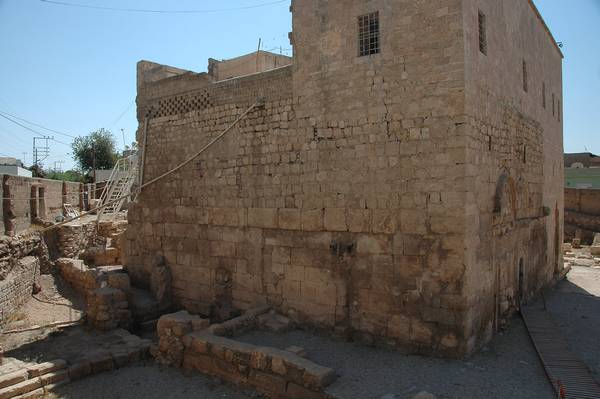 Nisibis, church, left nave (demolished)